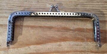 Tasbeugel zilver klein 13cm