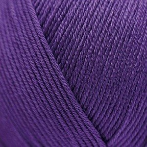 Essentials Cottton DK purple 18