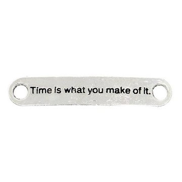 Bedel Time is what you make out of it oudzilver