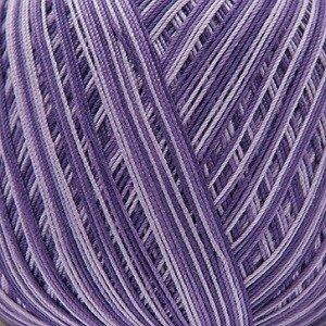 Essentials Crochet print lila mix 003