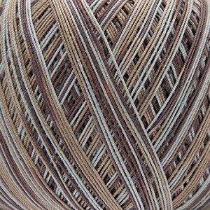 Essentials Crochet print bruin mix 006