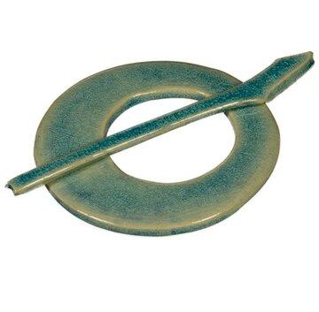 Vestspeld keramiek turquoise