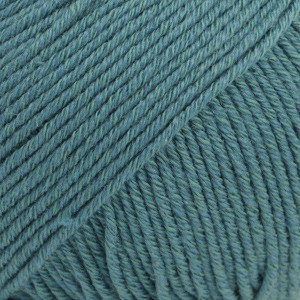 Drops Cotton Merino stormblauw 26