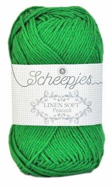 Linen Soft 606 grasgroen