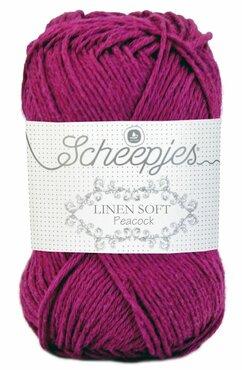 Linen Soft 603 paars fuchsia