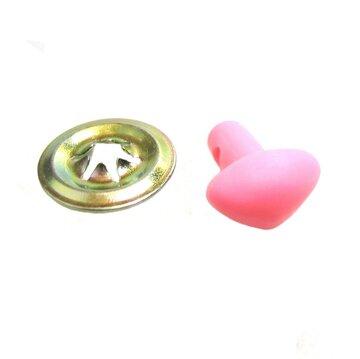 Veiligheidsneusjes roze 4 stuks