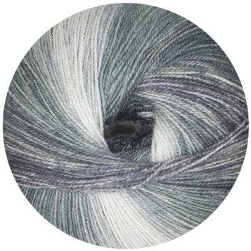 Starwool Lace Color zwart/grijs 101