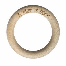 Houten ringen personaliseren