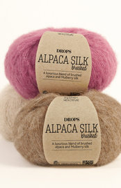 Drops Alpaca Silk brushed