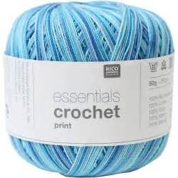 Essentials Crochet print
