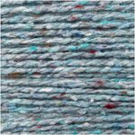 Fashion Modern Tweed Aran Licht Turquoise