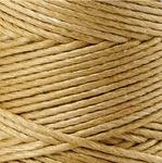 Bamboekoord 1mm goud