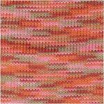 Rico Creative Cotton print oranje/roze