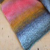 Breipakket sjaal Wool Degrade Super 6