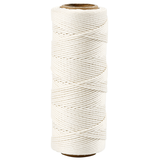 Bamboekoord 1mm, creme