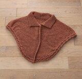 Haakpakket poncho Soft Wool