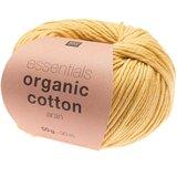 Essentials Organic Cotton Aran 003 geel