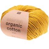 Essentials Organic Cotton Aran 004 mosterd
