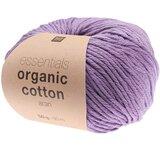 Essentials Organic Cotton Aran 009 paars