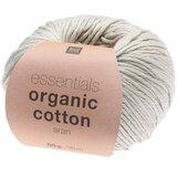 Essentials Organic Cotton Aran 018 zilver