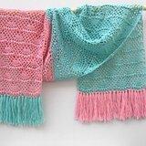 Haakpakket sjaal Waaier Soqs
