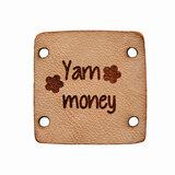 Leerlabel tekst Yarn Money