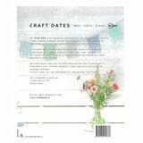 Craft Dates achterkant boek