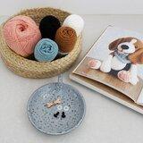 Garenpakket Mijn hondjes van sokkenwol Beagle Bram