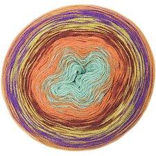 Creative Wool Dégradé Super 6 oranje/groen 012