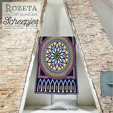 Haakpakket CAL 2019 Rozeta Colour Crafter Twilight
