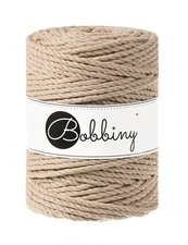 Bobbiny Triple Twist 5mm sand