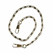Ketting/tashengsel bronskleurig 40cm