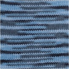 Creative Soft Wool Print 003 Blauw