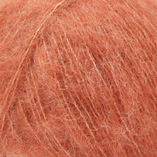 Drops Alpaca Silk brushed licht roest 22