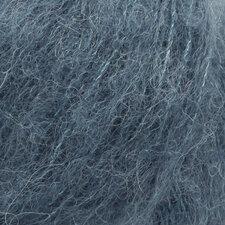 Drops Alpaca Silk brushed staalblauw 25