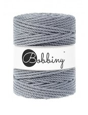 Bobbiny Triple Twist 5mm steel