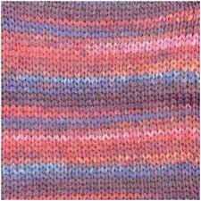 Creative Cotton Colour Coated blauw/rood mix 009