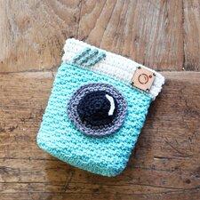 Haakpakket Portemonneetje camera met kliksluiting