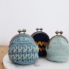 Haakpakket portemonneetje v-stitch