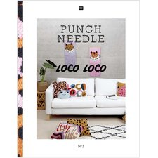 Punch needle boek 3 Loco Loco