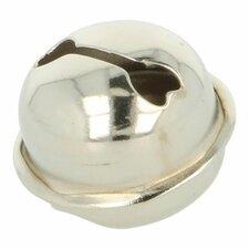 Bel zilver 34mm