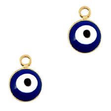 Bedel Boze oog blauw 6mm