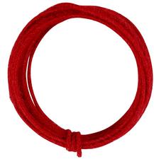 Jutekoord rood 3meter