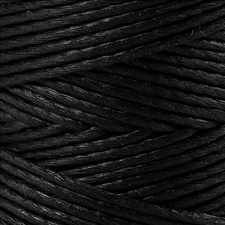Bamboekoord 1mm zwart