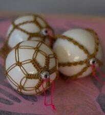 Pakket macramé kerstballen