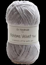 Bohème Velvet Fine 17601 Light Grey