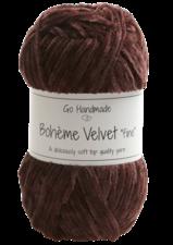 Bohème Velvet Fine 17602 Plum