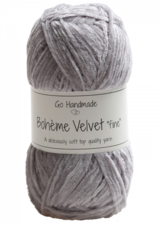 Bohème Velvet Fine 17604 Grey