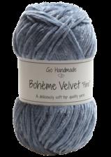 Bohème Velvet Fine 17605 Dark Grey