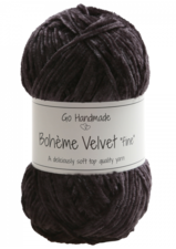 Bohème Velvet Fine 17607 Black